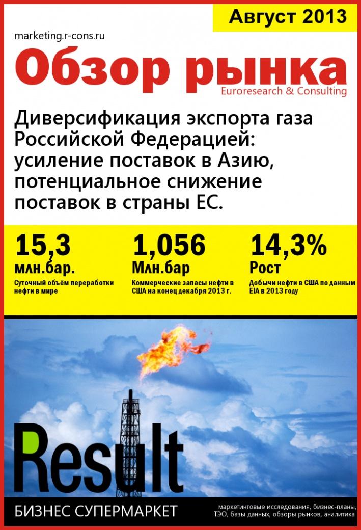 Диверсификация экспорта газа Российской Федерацией: усиление поставок в Азию, потенциальное снижение поставок в страны ЕС. style=