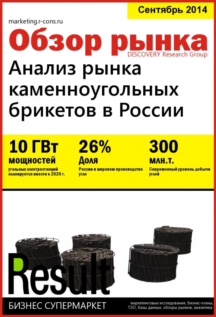 Анализ рынка каменноугольных брикетов в России style=