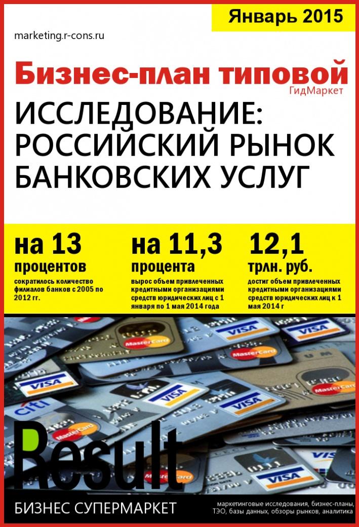 Российский рынок банковских услуг style=