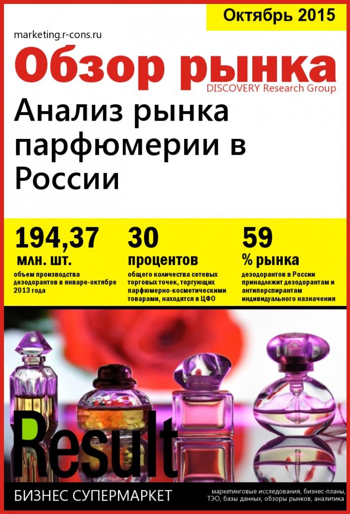 Анализ рынка парфюмерии в России  style=