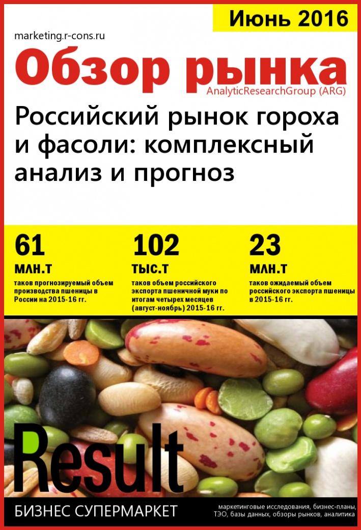 Российский рынок гороха и фасоли: комплексный анализ и прогноз. style=